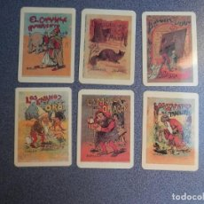 Coleccionismo Calendarios: COLECCIÓN 18 CALENDARIOS AÑO 2003 REPRODUCCIÓN PORTADAS DE CUENTOS CALLEJA. Lote 183864996