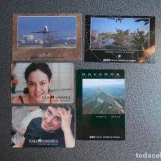 Coleccionismo Calendarios: COLECCIÓN 15 CALENDARIOS AÑOS 1998-2004 BANCOS - CAJA DE NAVARRA. Lote 183865343