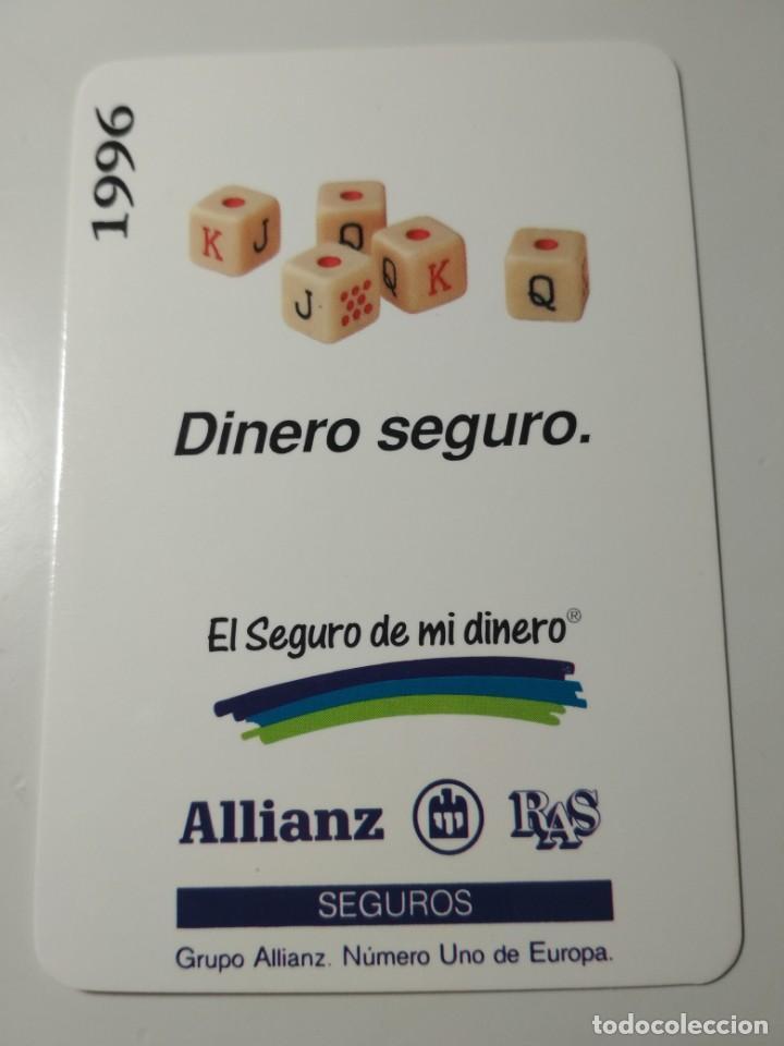 CALENDARIO ALLIANZ 1996 (Coleccionismo - Calendarios)