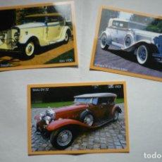 Coleccionismo Calendarios: LOTE CALENDARIOS COCHES ANTIGUOS 2011. Lote 183868551