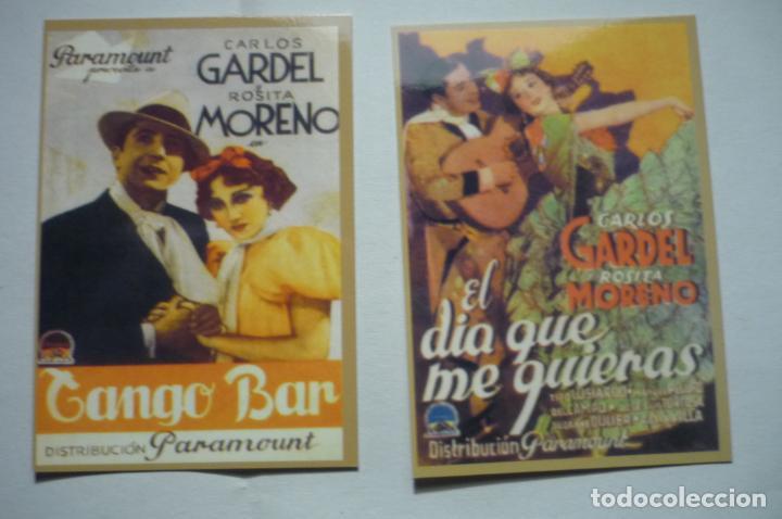 LOTE CALENDARIOS CINE PELICULAS CARLOS GARDEL 197 (Coleccionismo - Calendarios)