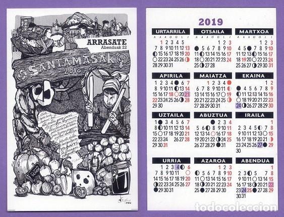Calendario de tc 2019