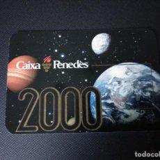 Coleccionismo Calendarios: CALENDARIO 2000 CAIXA PENEDES. Lote 184577950