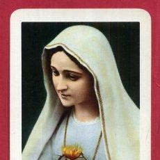 Coleccionismo Calendarios: CALENDARIO FOURNIER PUBLICIDAD CORAZON MARIA DE FATIMA 1961 ORIGINAL , C10458. Lote 185893967