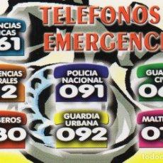 Coleccionismo Calendarios: CALENDARIO DE SERIE 2011 SERIE - BO. 588. Lote 185913852