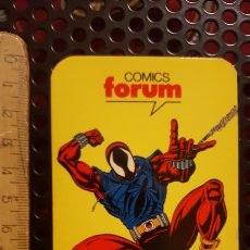 Coleccionismo Calendarios: CALENDARIO DE BOLSILLO - COMICS FORUM - 1995 - ARAÑA ESCARLATA - SPIDERMAN. Lote 186420783