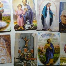 Coleccionismo Calendarios: LOTE CALENDARIOS RELIGIOSOS DIF.AÑOS. Lote 187153503