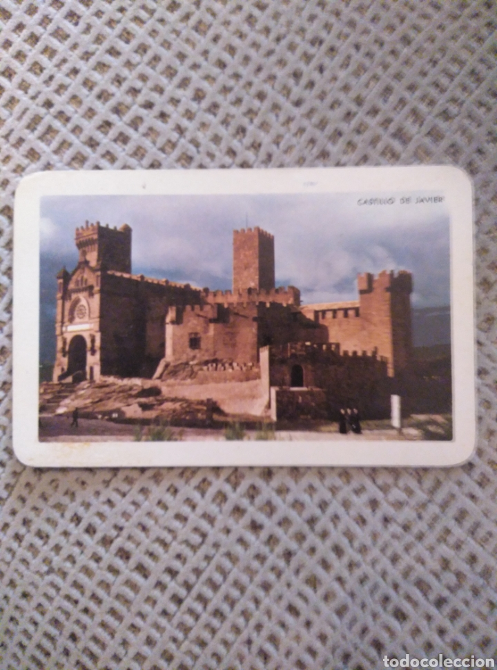 FOURNIER 1964 CASTILLO DE JAVIER NAVARRA (Coleccionismo - Calendarios)