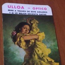 Coleccionismo Calendarios: CALENDARIO 1977 ULLOA OPTICO. Lote 187387761