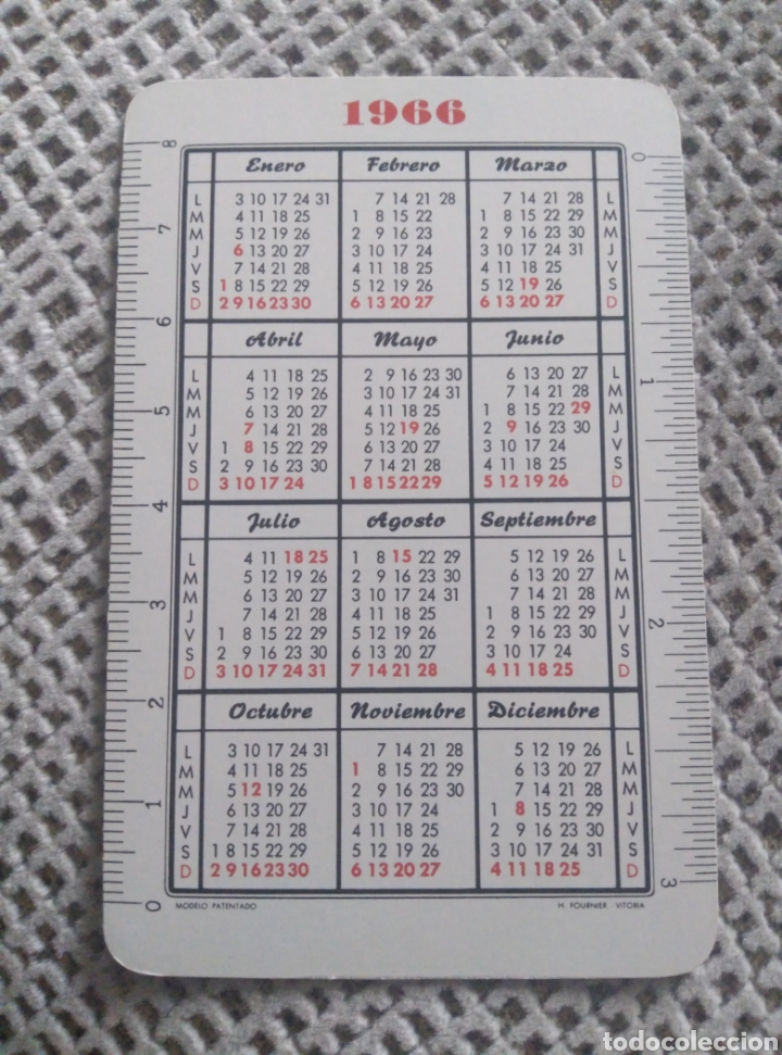 Coleccionismo Calendarios: Fournier 1966. La Patria Hispana - Foto 2 - 187503876
