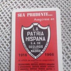Coleccionismo Calendarios: FOURNIER 1966. LA PATRIA HISPANA. Lote 187503876