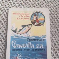 Coleccionismo Calendarios: FOURNIER 1966 CONSERVAS GARAVILLA S.A. Lote 187504428