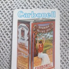 Coleccionismo Calendarios: FOURNIER 1966 ACEITE CARBONELL. Lote 187504563