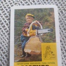 Coleccionismo Calendarios: FOURNIER 1968 PARTNER. Lote 187506138