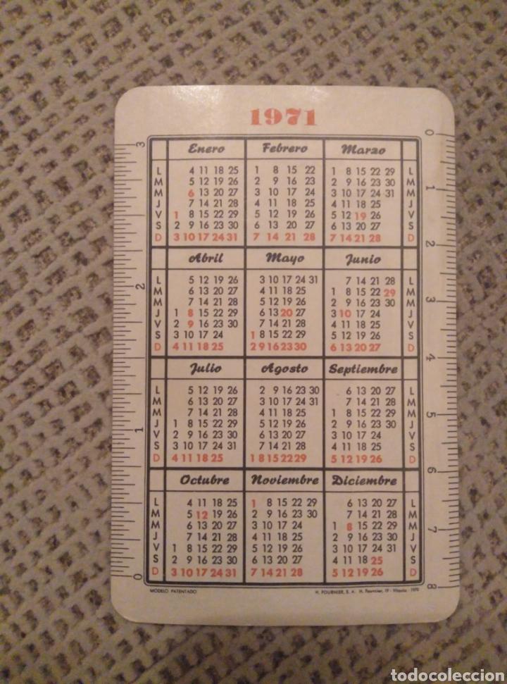 Coleccionismo Calendarios: Fournier 1971 Visión Fatimista de Pio XII - Foto 2 - 187508288