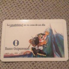 Coleccionismo Calendarios: FOURNIER 1978 BANCO GUIPUZCOANO. Lote 187509458