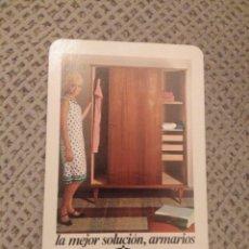 Coleccionismo Calendarios: FOURNIER 1967 ARMARIOS NELPA. Lote 187512027