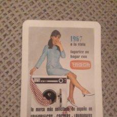 Coleccionismo Calendarios: FOURNIER 1967 FAGOR. Lote 187513117