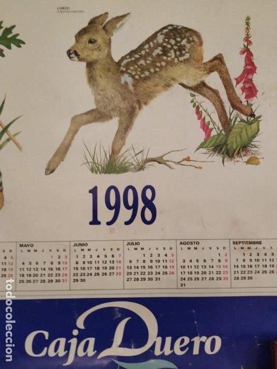 Coleccionismo Calendarios: CALENDARIO FAUNA DE CASTILLA Y LEÓN Y EXTREMADURA - CAJA DUERO 1988 - Foto 3 - 189311056