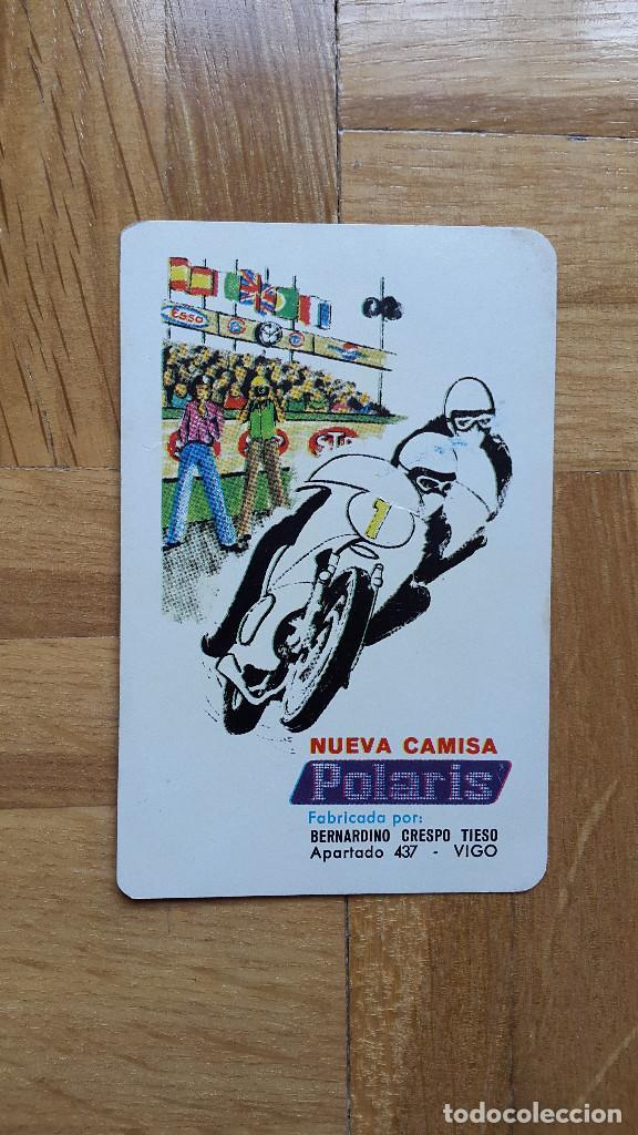 CALENDARIO FOURNIER CAMISA POLARIS AÑO 1972 - VER FOTO ADICIONAL (Coleccionismo - Calendarios)