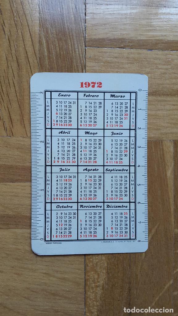 Coleccionismo Calendarios: CALENDARIO FOURNIER CAMISA POLARIS AÑO 1972 - VER FOTO ADICIONAL - Foto 2 - 189992146