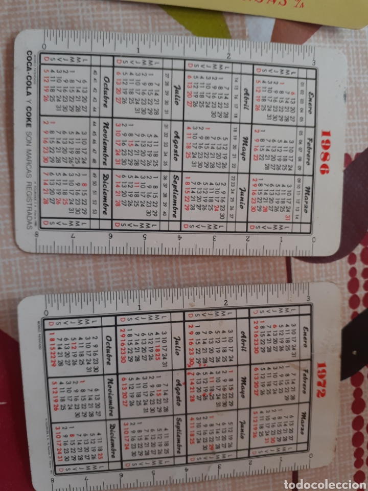 Coleccionismo Calendarios: Lote 5 calendarios fournier - Foto 6 - 190121703