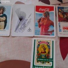 Coleccionismo Calendarios: LOTE 5 CALENDARIOS FOURNIER. Lote 190121703