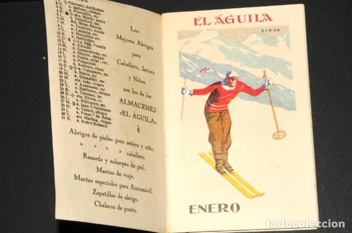 Coleccionismo Calendarios: Almacenes EL AGUILA. Almanaque 1931 - Foto 2 - 190456733