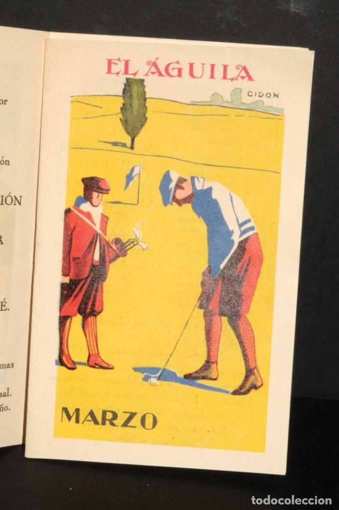 Coleccionismo Calendarios: Almacenes EL AGUILA. Almanaque 1931 - Foto 4 - 190456733