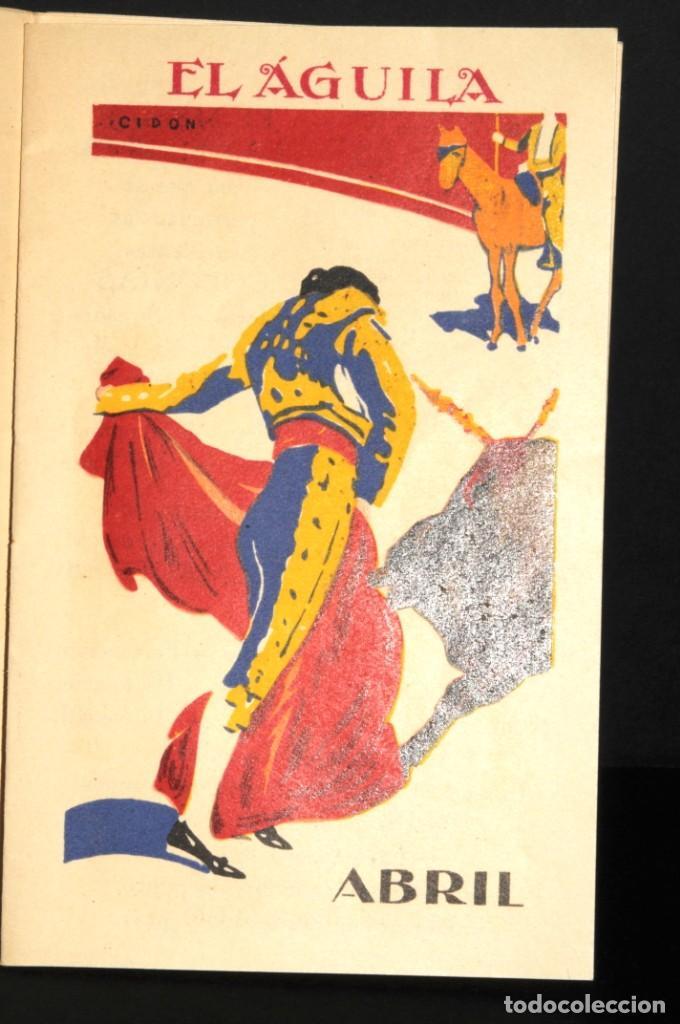 Coleccionismo Calendarios: Almacenes EL AGUILA. Almanaque 1931 - Foto 5 - 190456733