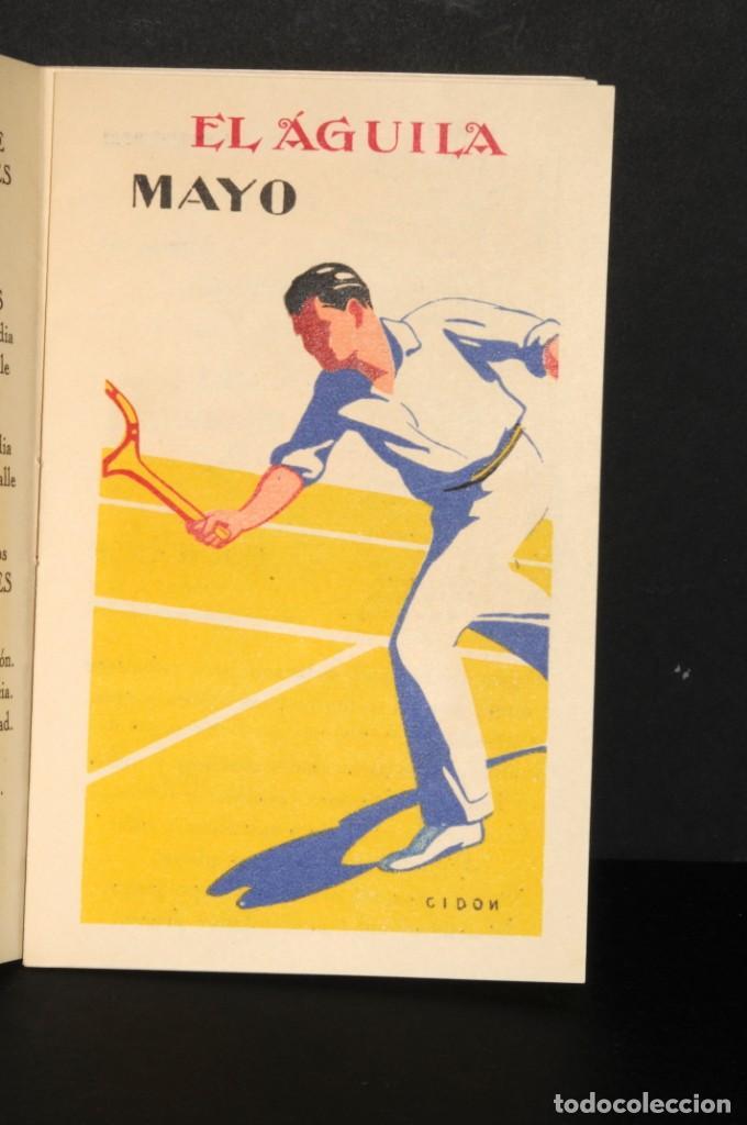 Coleccionismo Calendarios: Almacenes EL AGUILA. Almanaque 1931 - Foto 6 - 190456733