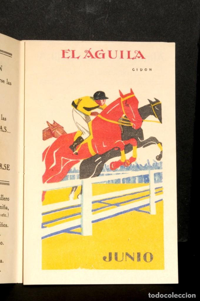 Coleccionismo Calendarios: Almacenes EL AGUILA. Almanaque 1931 - Foto 7 - 190456733