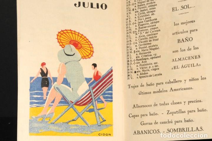 Coleccionismo Calendarios: Almacenes EL AGUILA. Almanaque 1931 - Foto 8 - 190456733