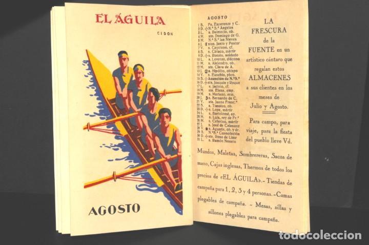 Coleccionismo Calendarios: Almacenes EL AGUILA. Almanaque 1931 - Foto 9 - 190456733