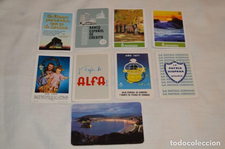 LOTE 9 CALENDARIOS VARIADOS FOURNIER - AÑOS 60/70/80 Y 90 - FOURNIER SPAIN - ¡MIRA FOTOS Y DETALLES! (Coleccionismo - Calendarios)