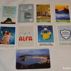 Coleccionismo Calendarios: LOTE 9 CALENDARIOS VARIADOS FOURNIER - AÑOS 60/70/80 Y 90 - FOURNIER SPAIN - ¡MIRA FOTOS Y DETALLES!. Lote 190465172