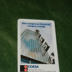 Coleccionismo Calendarios: CALENDARIO FOURNIER - COESA 1974. Lote 190612945