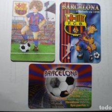 Coleccionismo Calendarios: LOTE CALENDARIOS FUTBOL BARCELONA FC DIF.AÑOS. Lote 190698230