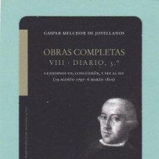 Collezionismo Calendari: CALENDARIO 2012 - KRK EDICIONES - OBRAS COMPLETAS VIII. DIARIO 3º. Lote 190779542