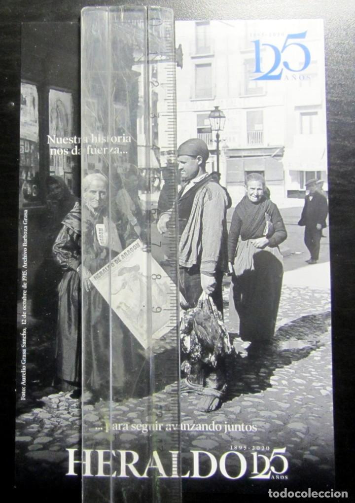 CALENDARIO TAMAÑO POSTAL HERALDO ARAGON 2020 (Coleccionismo - Calendarios)