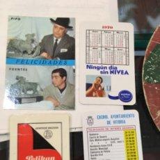 Coleccionismo Calendarios: 4 CALENDARIOS 1969, 1970 Y 1967. Lote 190921906