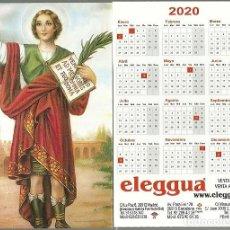 Coleccionismo Calendarios: CALENDARIO PUBLICITARIO. ELEGGUA. ESOTERISMO. AÑO 2020. Lote 190993230