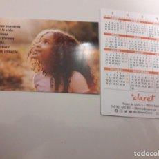 Coleccionismo Calendarios: CALENDARIO PUBLICITARIO. LIBRERÍA CLARET. AÑO 2020. Lote 191368387