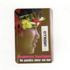 Coleccionismo Calendarios: CALENDARIO BOLSILLO - MISIONEROS JAVERIANOS - AÑO 2020. Lote 191415012