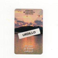 Coleccionismo Calendarios: CALENDARIO BOLSILLO - ACADEMIA DE LA LLINGUA ASTURIANA - AÑO 2020. Lote 191415436