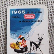 Coleccionismo Calendarios: FOURNIER 1965 ELECTRODOMÉSTICOS FAGOR. Lote 191569217