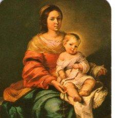 Coleccionismo Calendarios: CALENDARIO DE BOLSILLO------------MADONNA DEL ROSARIO-------1974. Lote 191593316