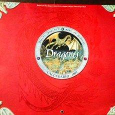 Coleccionismo Calendarios: DRAGONES - CALENDARIO 2009 MONTENA. Lote 191673017