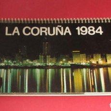 Coleccionismo Calendarios: CALENDARIO DE MESA. LA CORUÑA 1984.. Lote 191712052