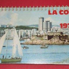 Coleccionismo Calendarios: CALENDARIO DE MESA. LA CORUÑA 1978... Lote 191712743